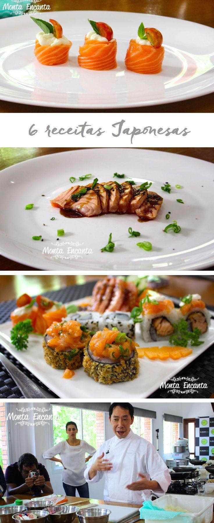 Jin Jin wok receitas: Arroz Yakimeshi, Frango com Shimeji, Pipoca de Camarão, Beef Chinês e Caramelo para decorar a sobremesa