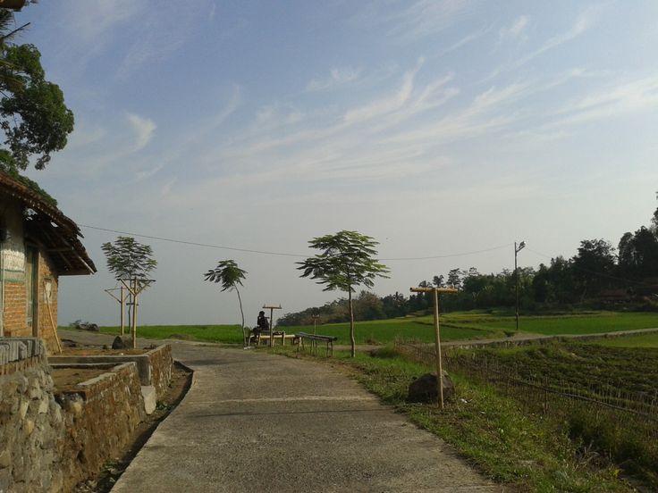 Suatu pagi di Cibuntu... fresh air!