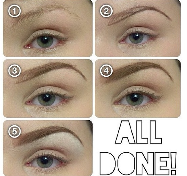How to achieve perfect eyebrows