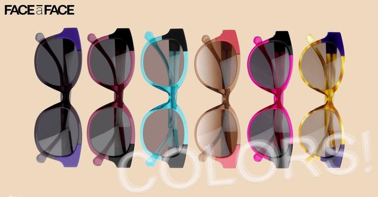 FACE à FACE VEIGA: A range of colors! // Face à Face VEIGA... une large gamme de couleurs! http://faceaface-paris.com #faceaface @faceaface_paris