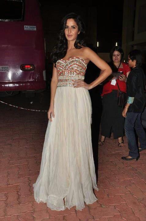 Katrina Kaif - bejewelled evening dress   Sarees & Suits ...