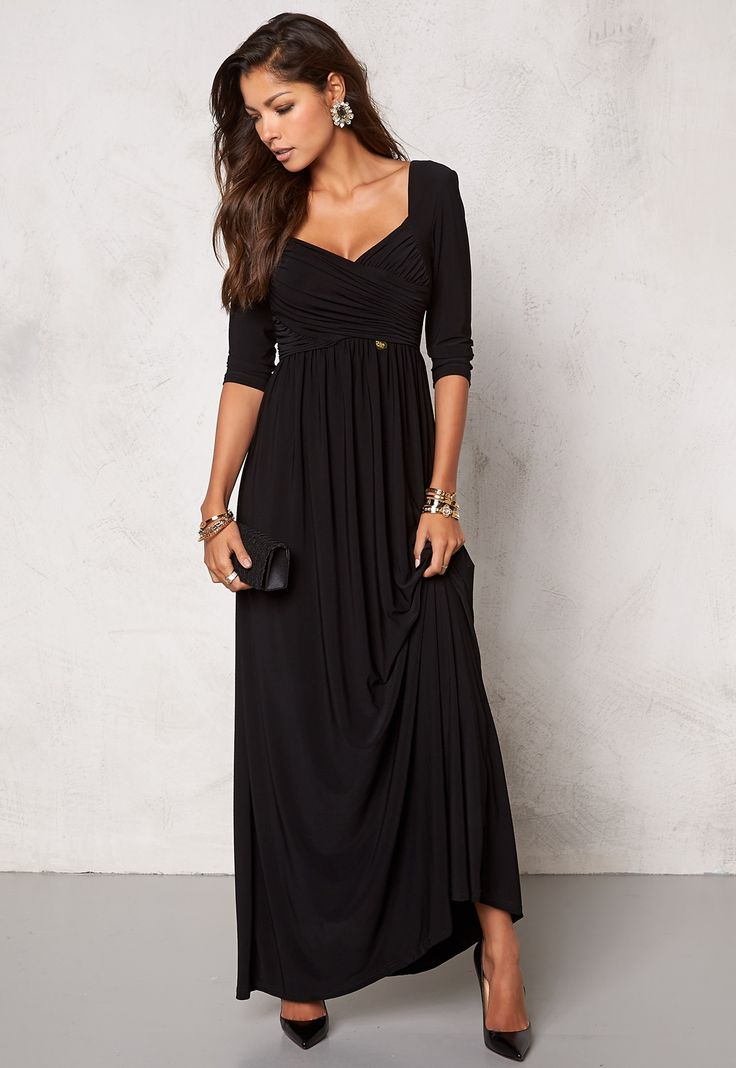Har kjøpt den! Chiara Forthi Nela Maxi Dress Black