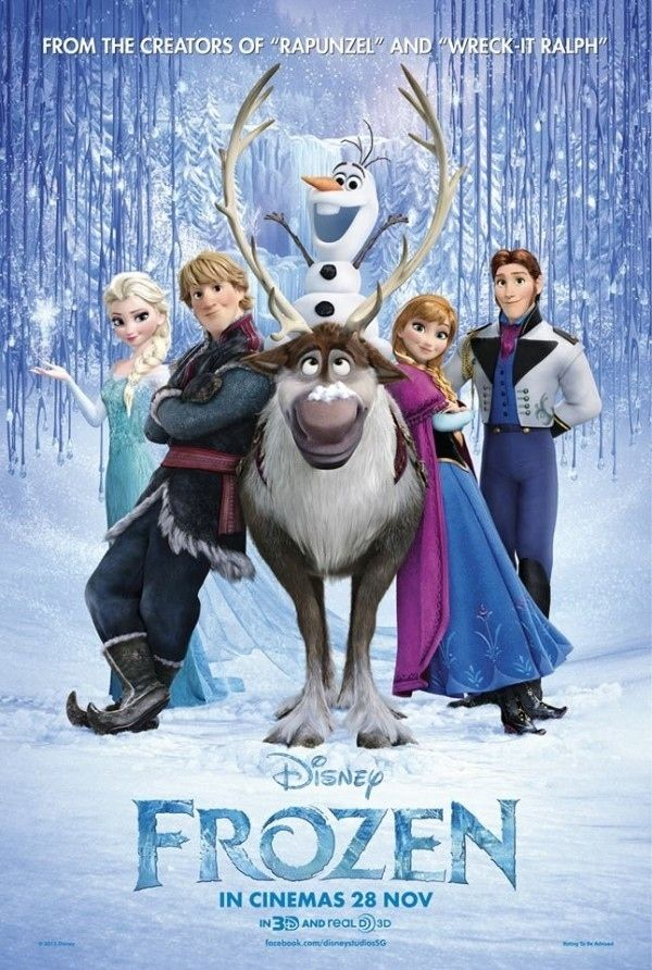Disney's musical Frozen stars Kristen Bell and Idina Menzel as the film's only lead female characters.