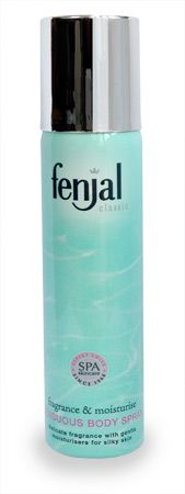 Fenjal Classic Sensuous Body Spray 75ml Fenjal Classic Sensuous Body Spray 75ml: Express Chemist offer fast delivery and friendly, reliable service. Buy Fenjal Classic Sensuous Body Spray 75ml online from Express Chemist today! (Barcode EAN http://www.MightGet.com/january-2017-11/fenjal-classic-sensuous-body-spray-75ml.asp