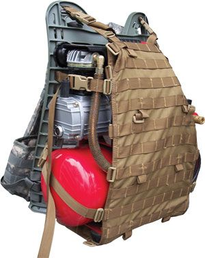 Kifaru Cargo Panel -- Carry Odd Sized Loads - not just for kit but great for molle storage in a vehicle