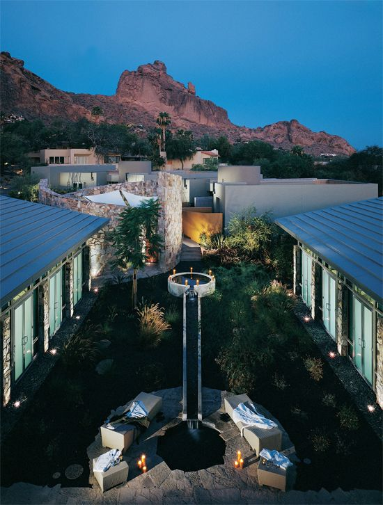 Sanctuary Camelback Mountain - Scottsdale resort spa, one of the top destination spas in the country.