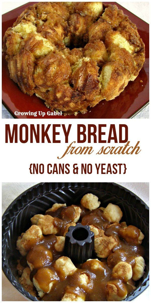 Monkey Bread Recipe With Biscuits Bundt Pans