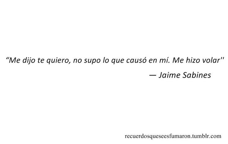 Me dijo te quiero...