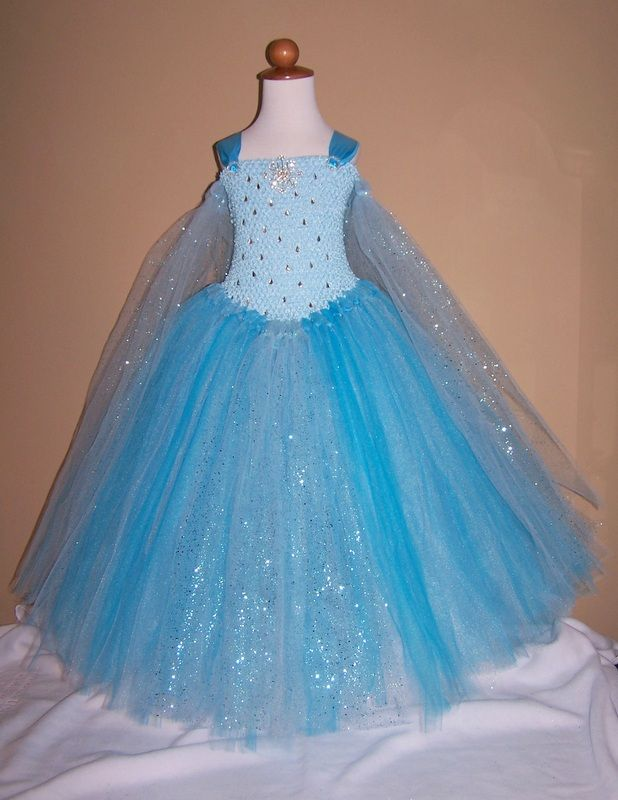 Queen Elsa Frozen tutu dress costume www.facebook.com/tessastutus