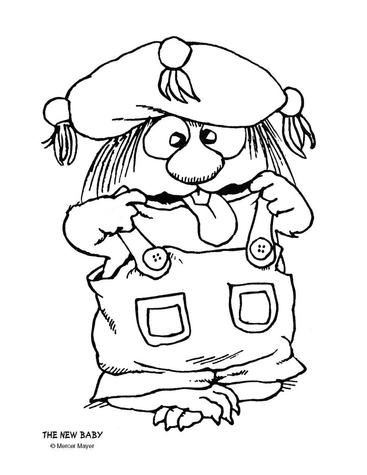 little critter coloring pages free - photo #20