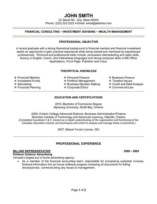 resume sample for accounting position templates professionals clerk canada click here download billing representative template