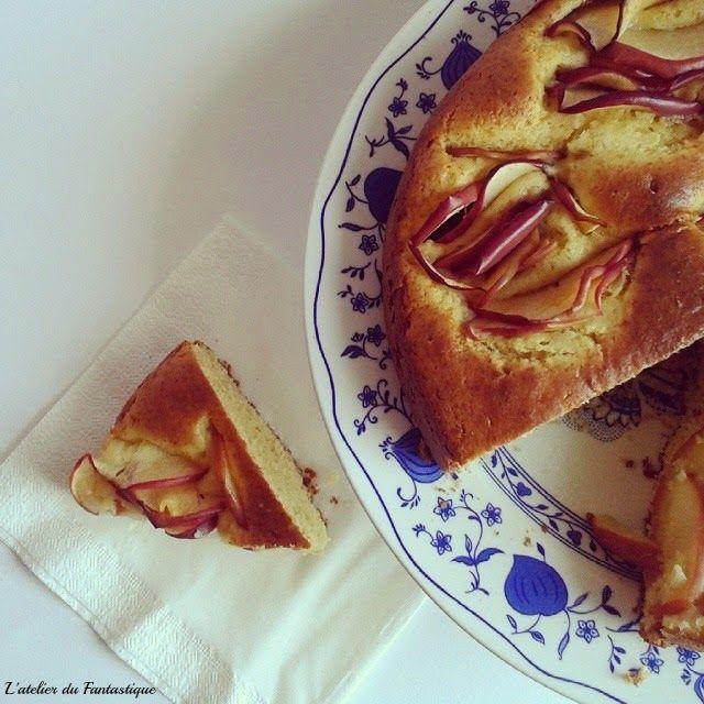 L'atelier du Fantastique: Torta di mele gluten free al profumo di mango