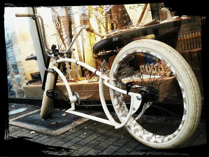 how to build a stretched beach cruiser