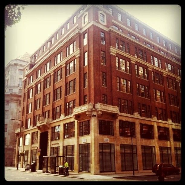 Horseferry House in London...place of work for 1200 lovely, exciting, energetic and dynamic people...<3