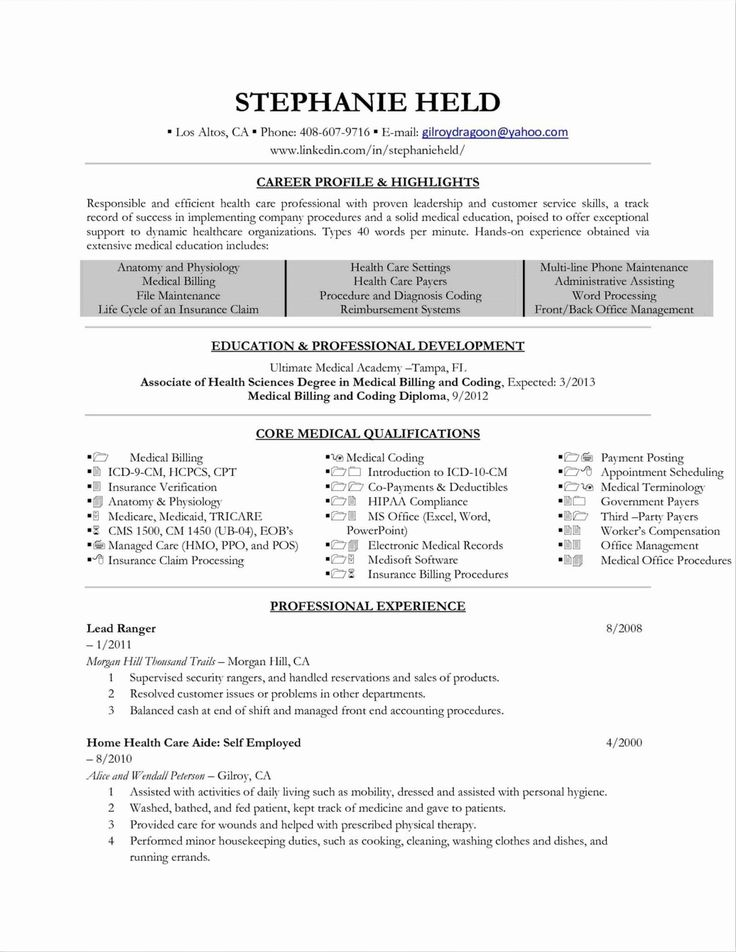 32 Beautiful Office Manager Resume Sample in 2020