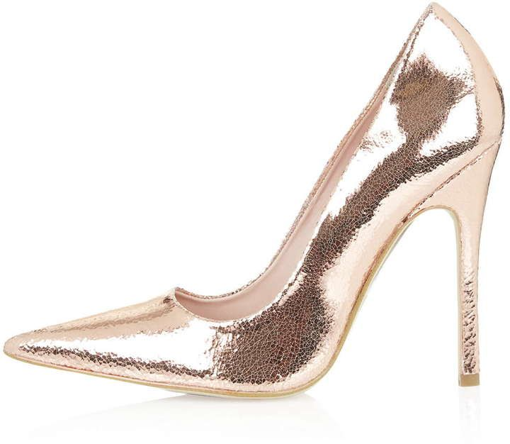 Gallop metallic court shoes