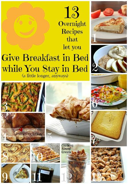 27 best breakfast recipes images on pinterest recipes for Easy breakfast in bed ideas