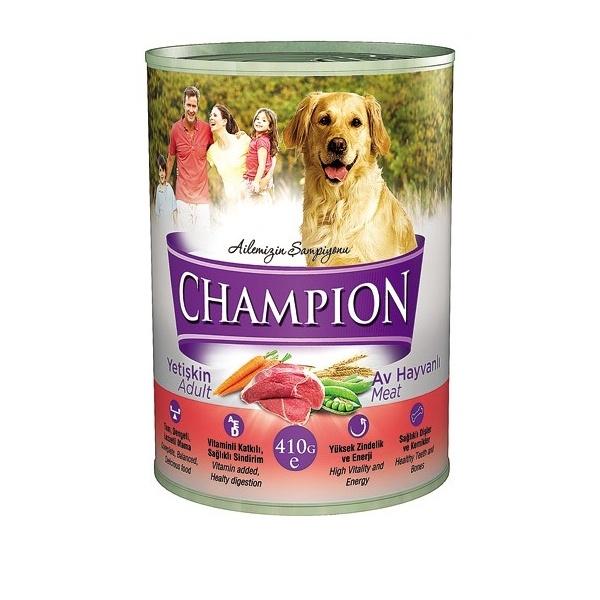Champion Av Hayvanlı Köpek Konservesi