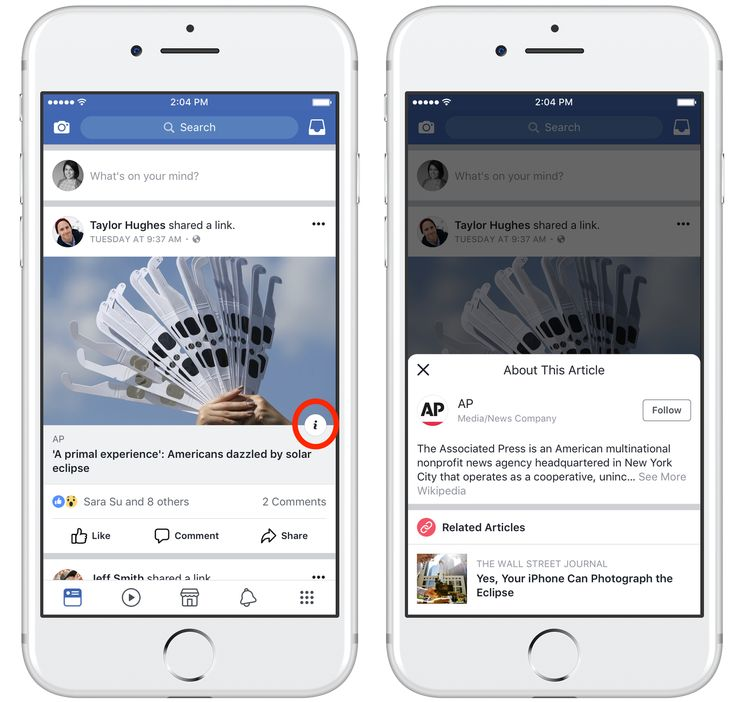 Facebook tries fighting fake news with publisher info button on links   TechCrunch
