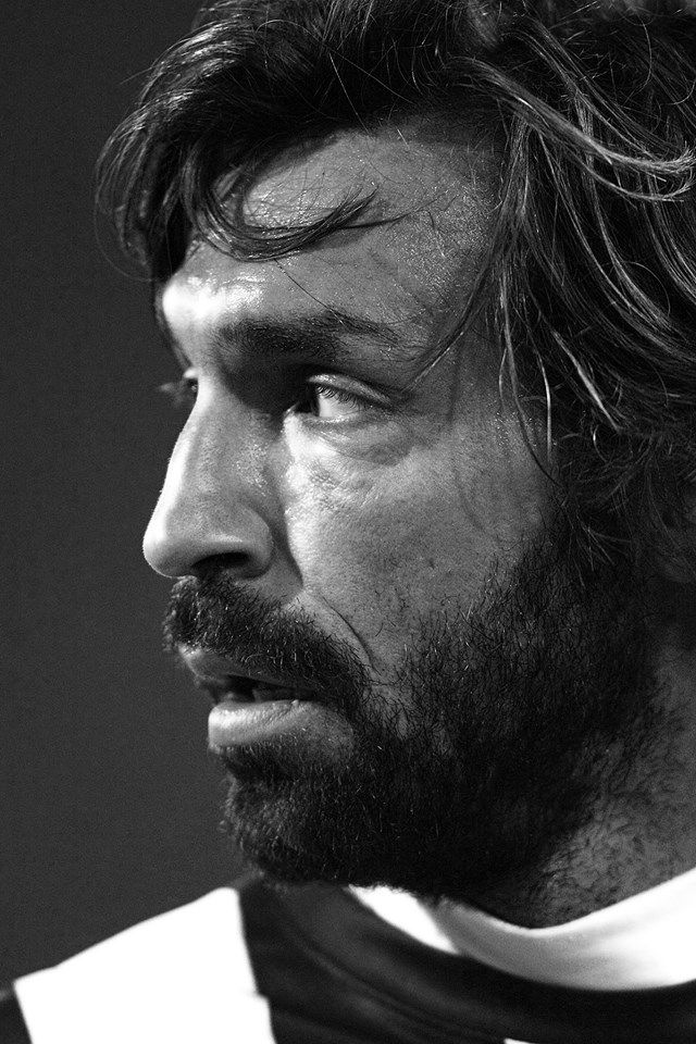 Andrea Pirlo. Sexy, world class, sexy. I think that describes him exactly.