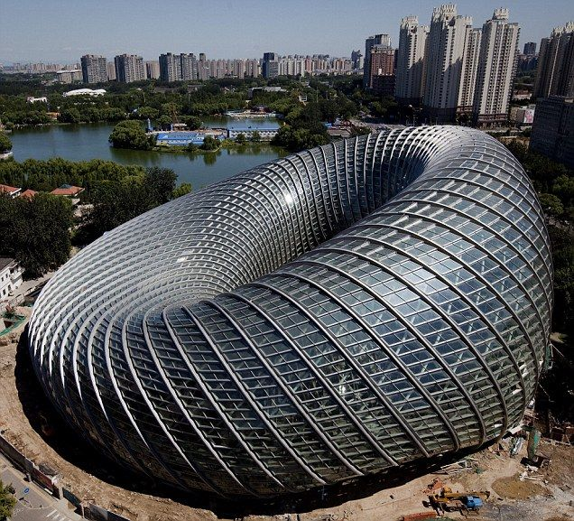 WOW!! Beijing's new Phoenix International Media Centre