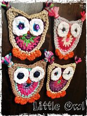 Ravelry: Little Owl Applique pattern by Heidi Cipriano. PDF SAVED.