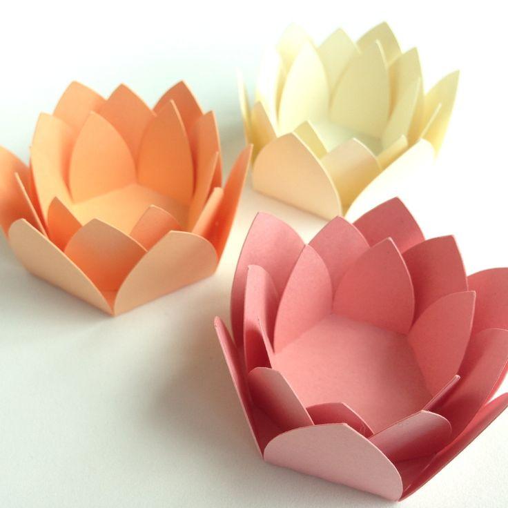 Forminhas para doces flor de lotus