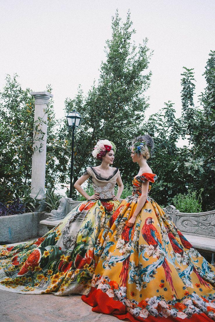 Suzy Menkes Dolce & Gabbana alta moda Portofino (Vogue.co.uk)