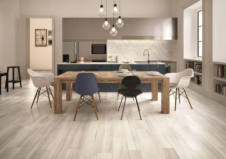 Millelegni by Emilceramica #wood #tiles #surfaces #interiordesign #kitchen #design #rivestimenti #pavimenti