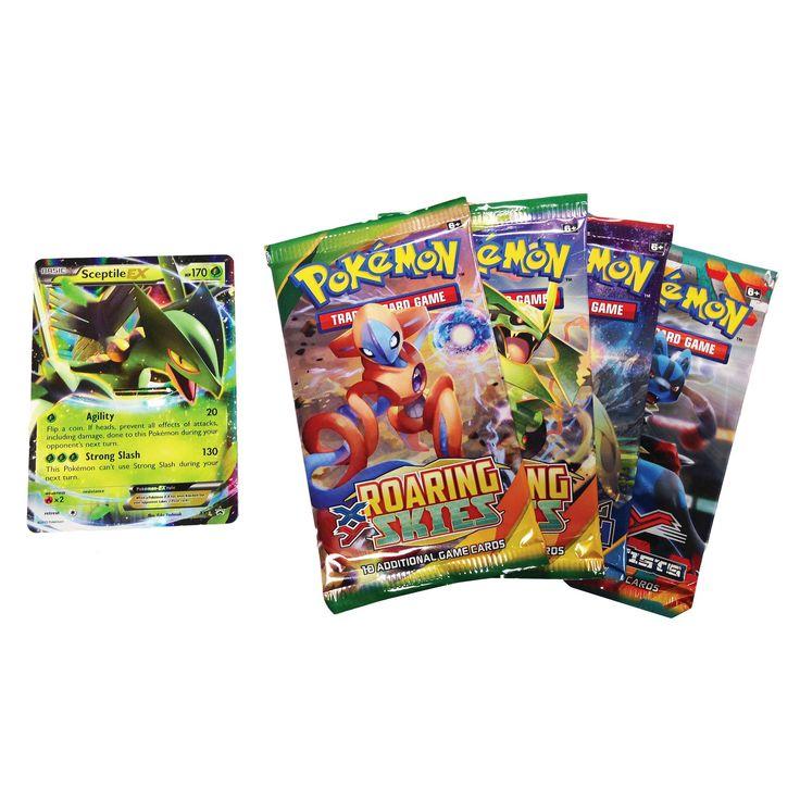 Pokemon Trading Card Game Hoenn Power Spring Tin featuring Sceptile