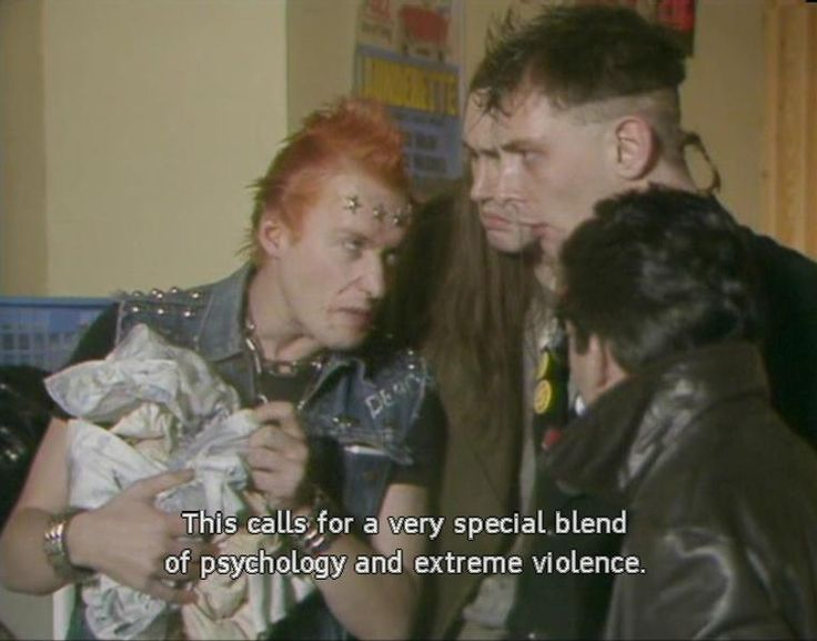 This calls for a very special blend of psychology and extreme violence. (The Young Ones)