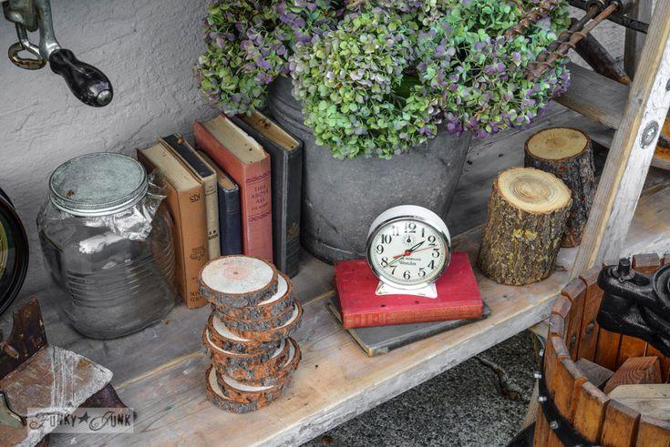 vintage books / FunkyJunkInteriors.net