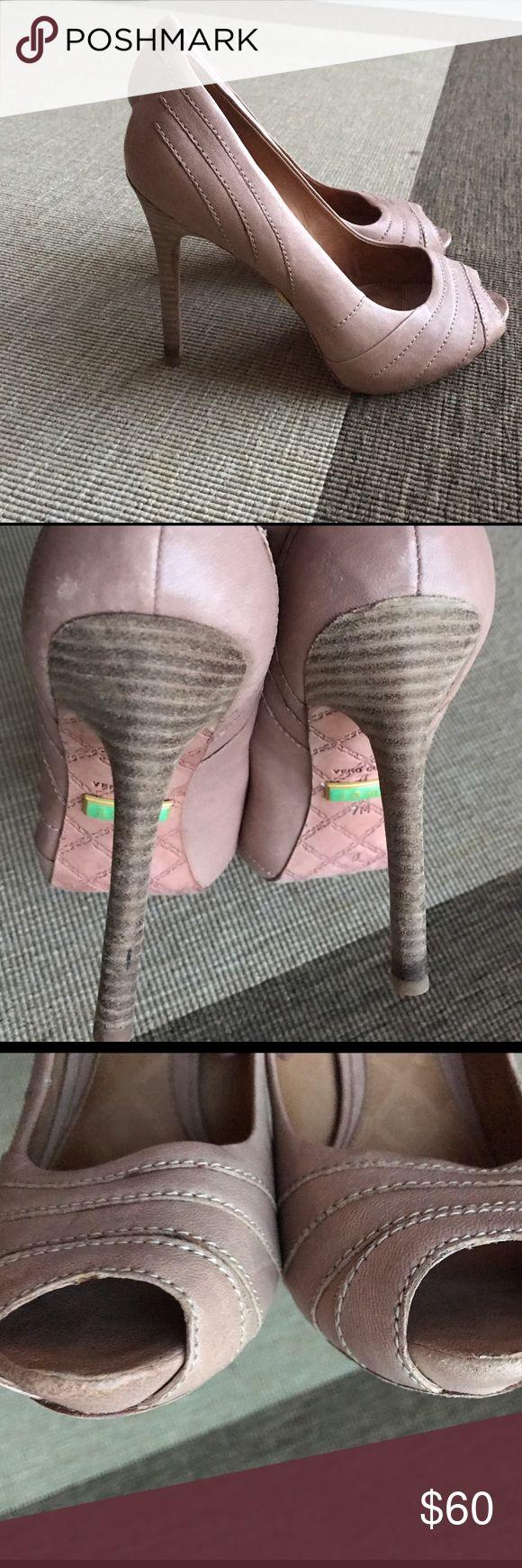 Nude LAMB shoes. Size 7. Perfect condition. Worn ones. LAMB. 7 M. L.A.M.B. Shoes Platforms