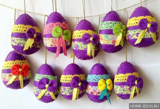 Пасхальные украшения своими руками для дома (50 фото), пасхальные поделки