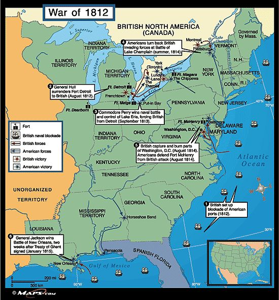 Best War Of Ideas On Pinterest Star Spangled Banner - Map of us during war of 1812