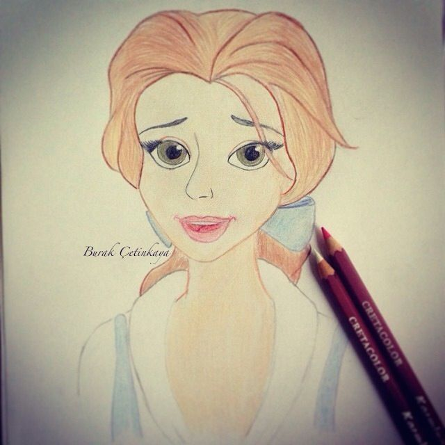 Beauty and the Beast Princess Belle Drawing