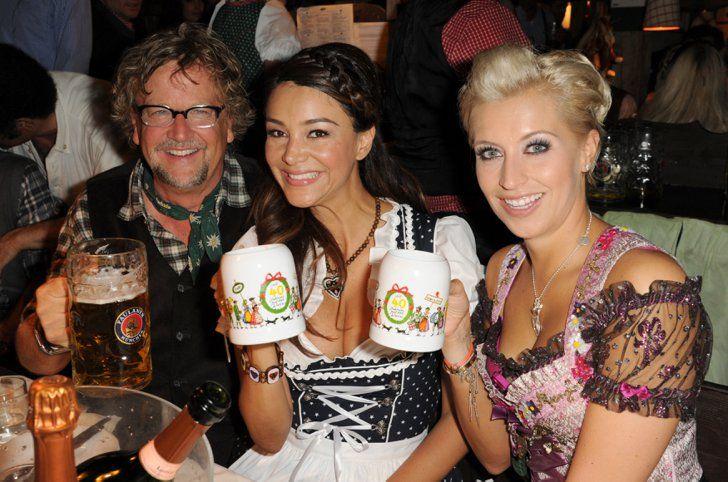 Pin for Later: Prost! Auch die Stars heben gerne mal einen Martin Krug, Verena Pooth und Verena Kerth