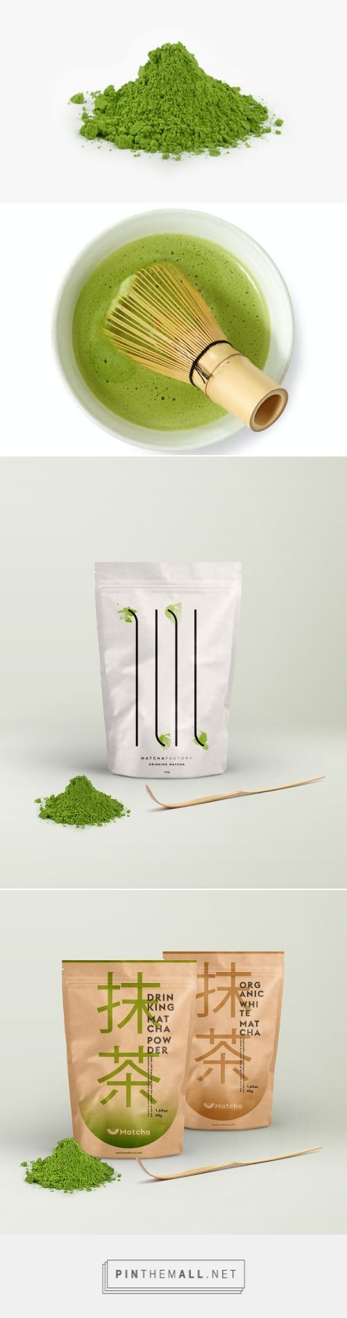 Rebranding Matcha 抹茶 via Title Blog curated by Packaging Diva PD. Which design do you like better?