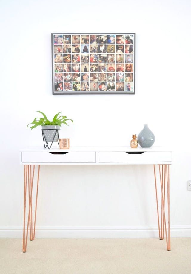 8 Pictures That Prove Ikea S Ekby Alex Is The Sleekest Storage Around Ikea Ekby Diy Furniture Cheap Ikea Console Table