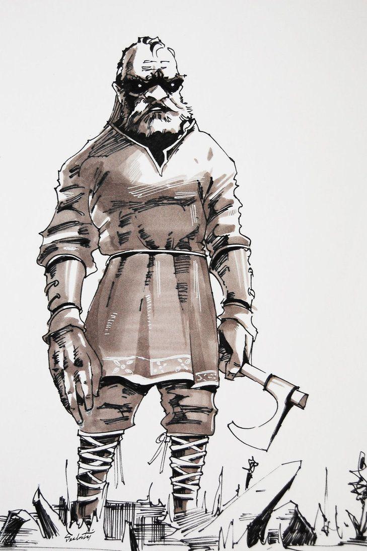 character sketch by MatusSzalontai.deviantart.com on @DeviantArt
