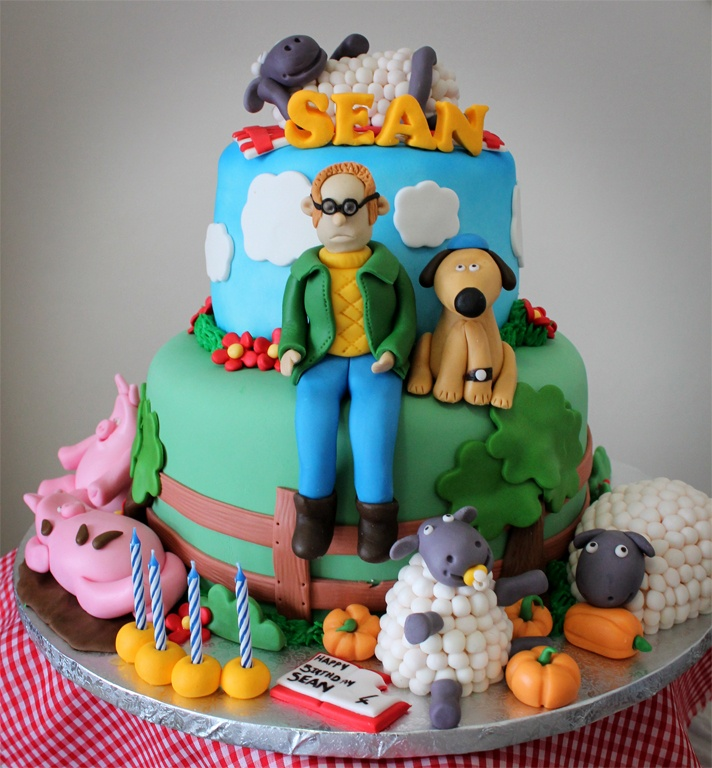 Best Shaun The Sheep Cakes Images On Pinterest Shaun The - Sheep cakes birthday