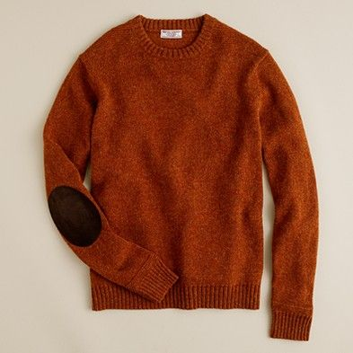 sweater + patches=must do this