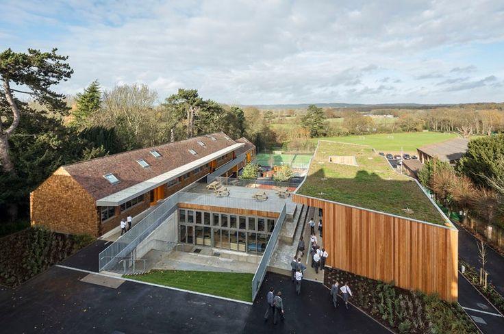 The Ritblat Building, Hilden Grange Preparatory School, Tonbridge by Hawkins\Brown