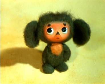 Cheburashka...even if you're not Russian, you just have to love this little stop-animation show. He's like a cross between a baby and a teddy bear.