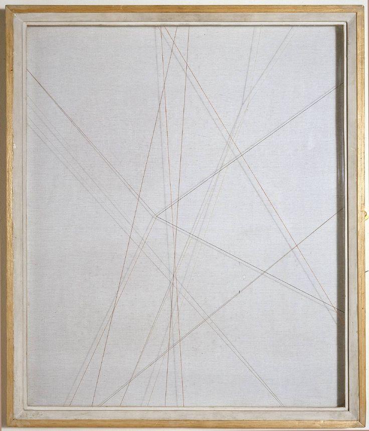 Paule Vézelay 'Lines in Space No. 34', 1954