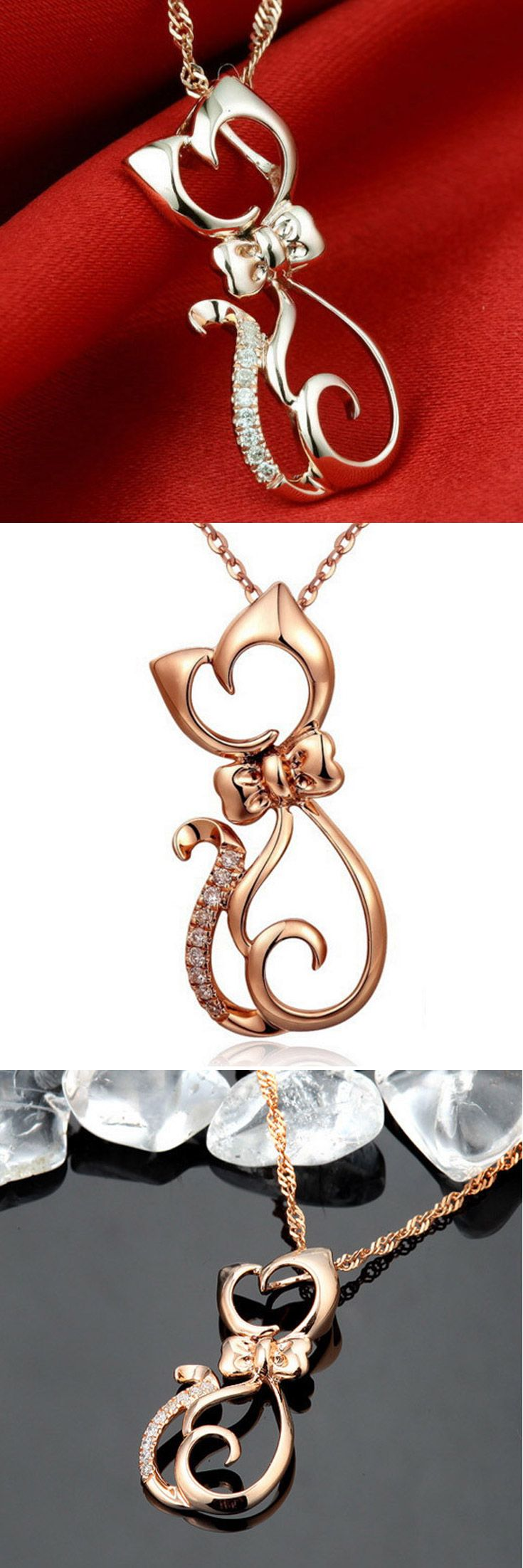 Love Cats? Then this Cat pendant necklace is for you. Click and Grab yours at 50% off today.