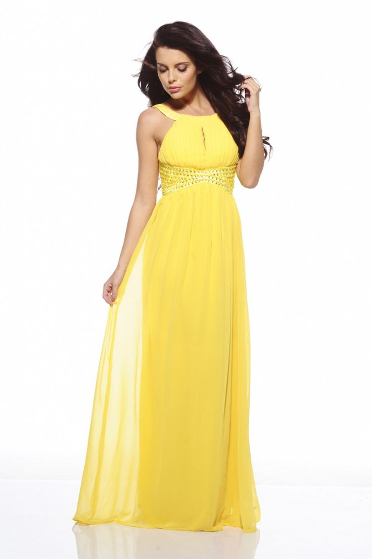Maxi dress queensland yellow