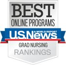 What are the best online Master's in Nursing programs? See where each school ranks based on factors like academics, student engagement and surveys from experts.