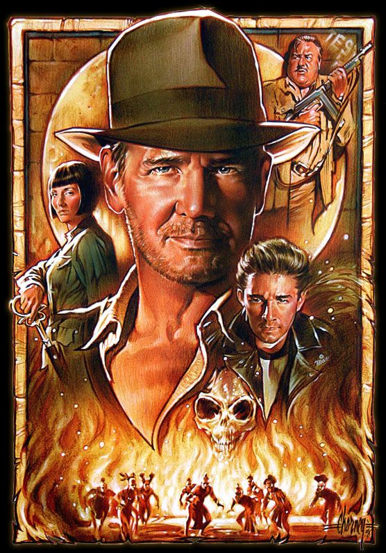 Indiana Jones and the Kingdom of the Crystal Skull by Steven Chorney