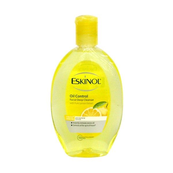Eskinol Oil Control Facial Deep Cleanser With Lemon Extract 135ml